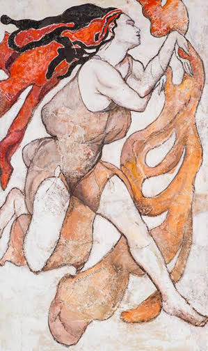After Bakst, II 60_ x 36_