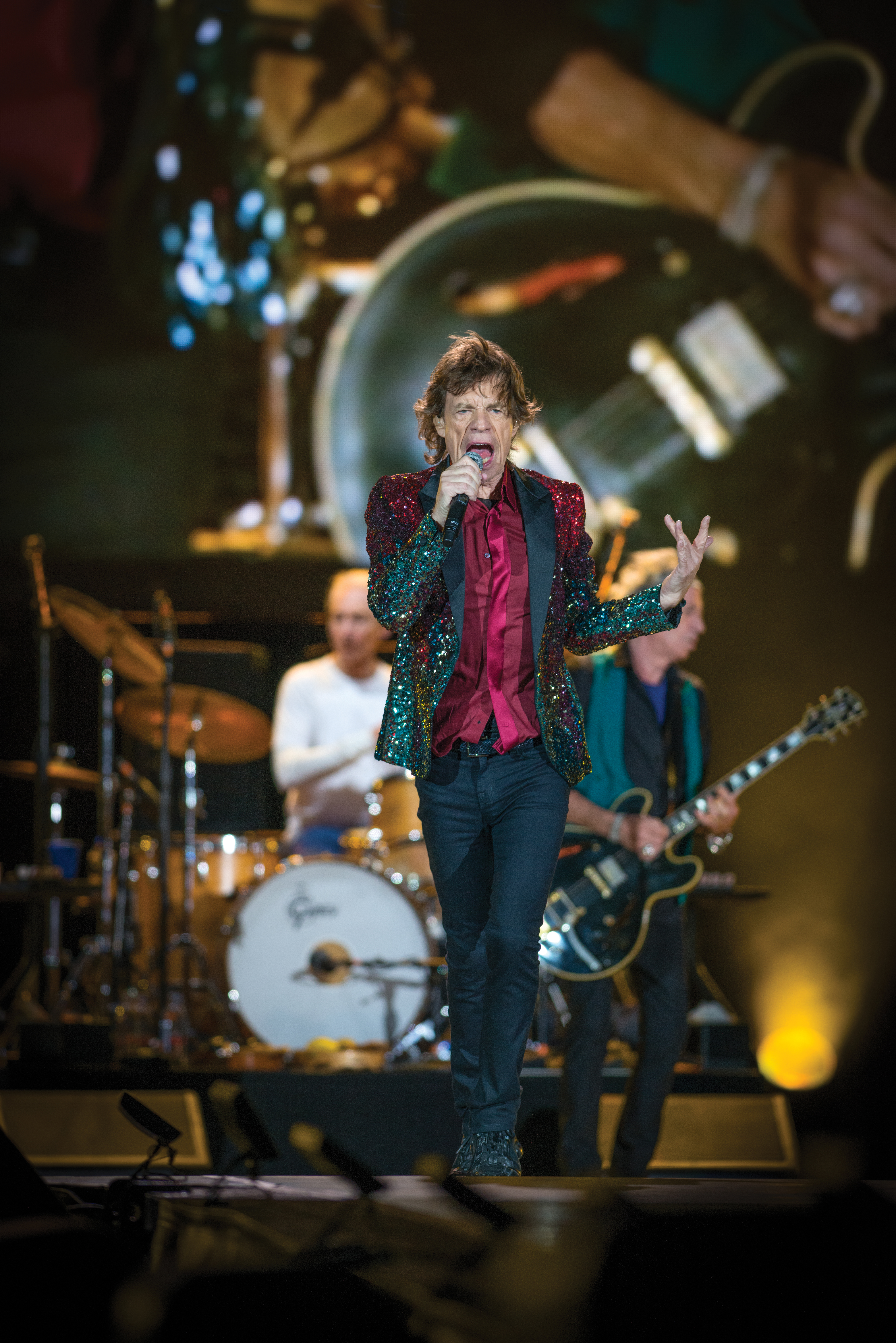 The Rolling Stones Perform at the 2015 Quebec Summer Festival.