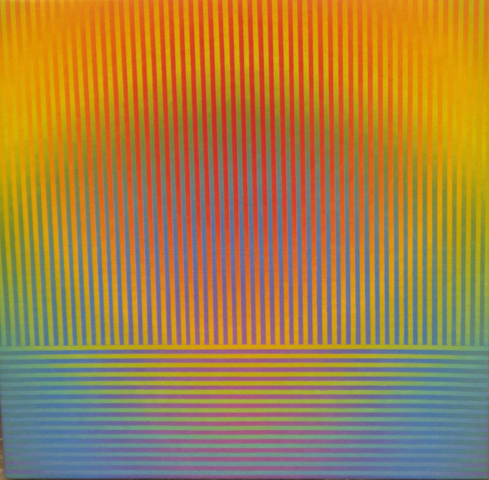David Whitaker Above and Below, 2004 oil on canvas 50 x 50 cm