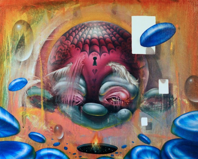 ISAAC PIERRO American contemporary painter and tattoo artist